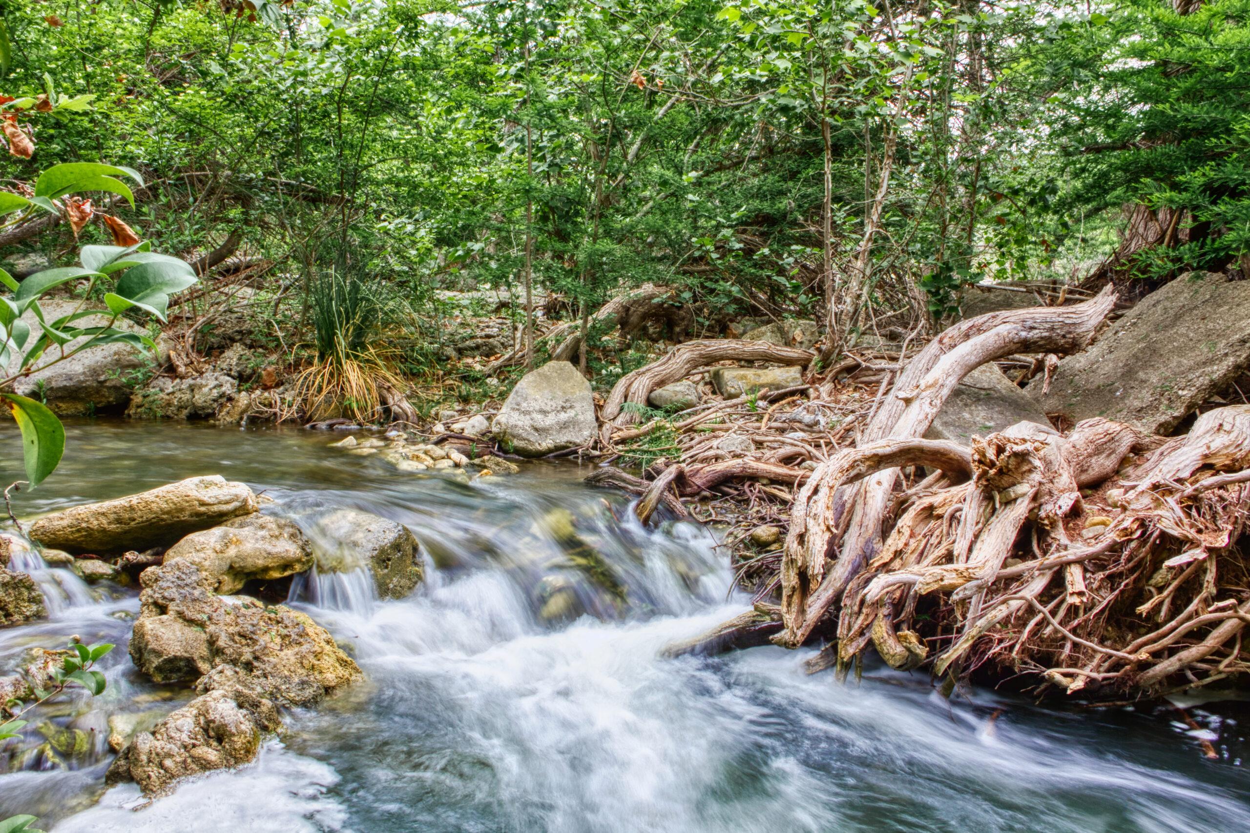 Guadalupe River long exposure