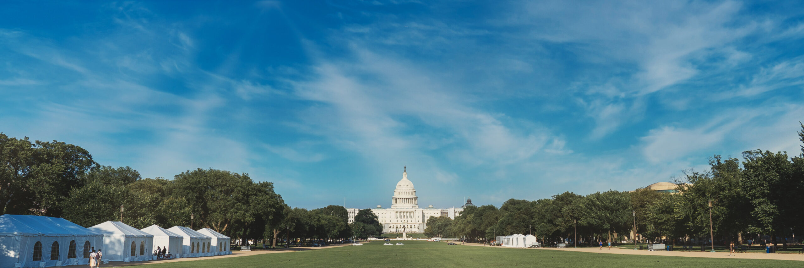 US Capitol Building Panoramic